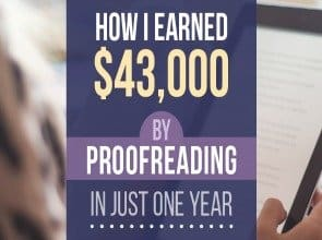 How I Earned $43,000 as a Proofreader in Just One Year