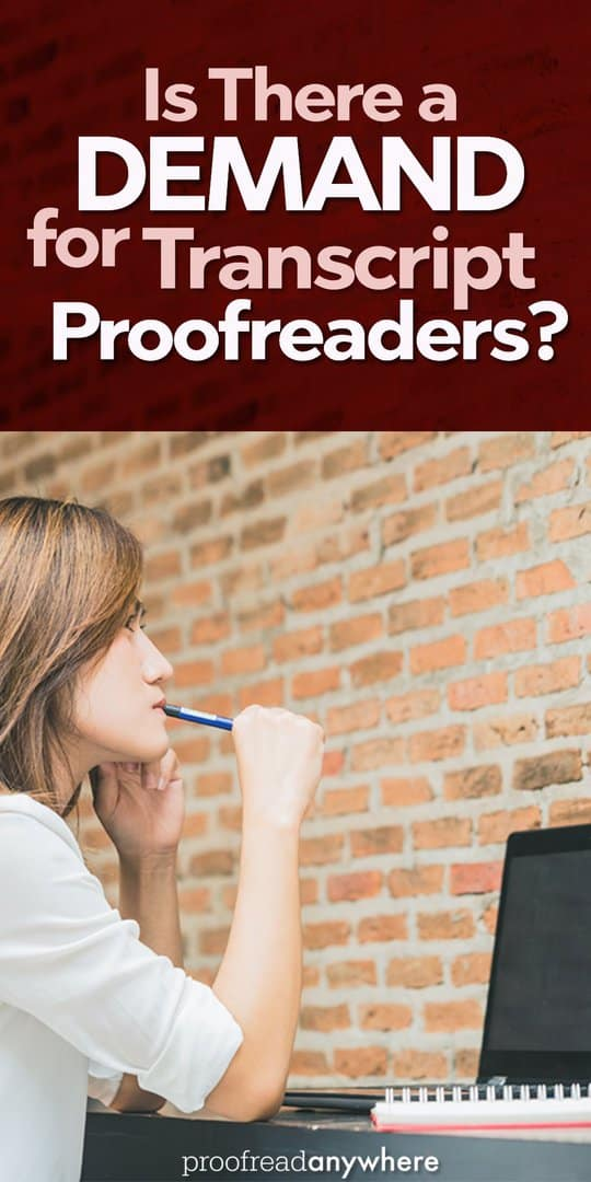 Court reporters needing proofreaders