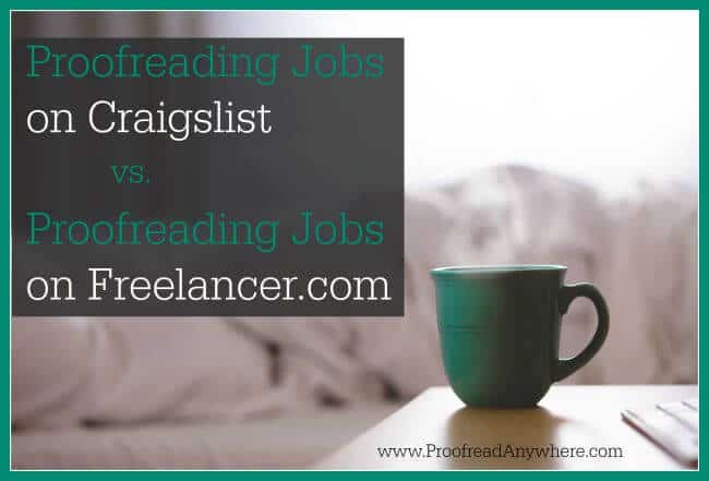 """online proofreading jobs Work from home jobs and ways to make money online under """"filter jobs"""" and """"choose area of interest another plus to proofreading for others on."""