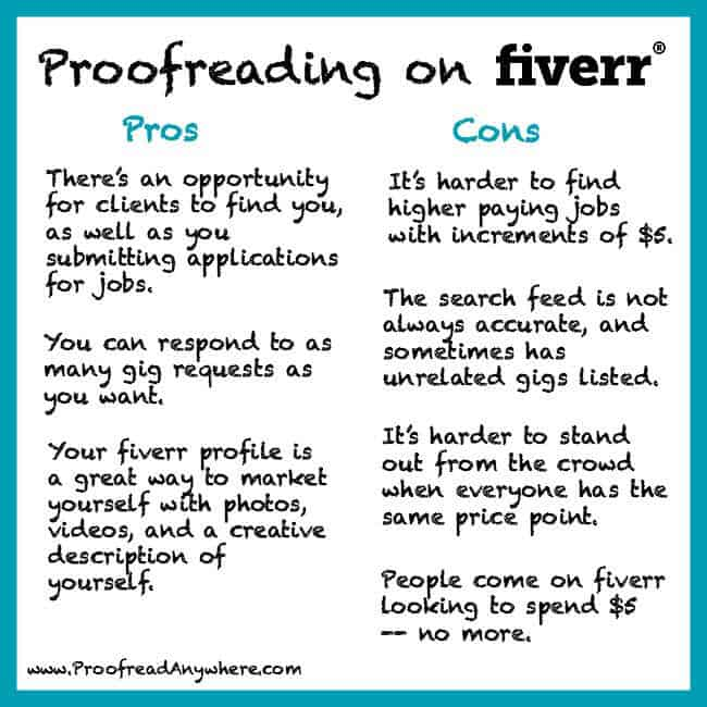 Working as a proofreader