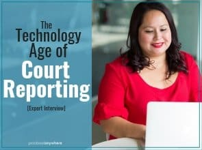This is a great time to be a court reporting student or recent graduate. There are plenty of job opportunities now and that will only increase as the years go on.