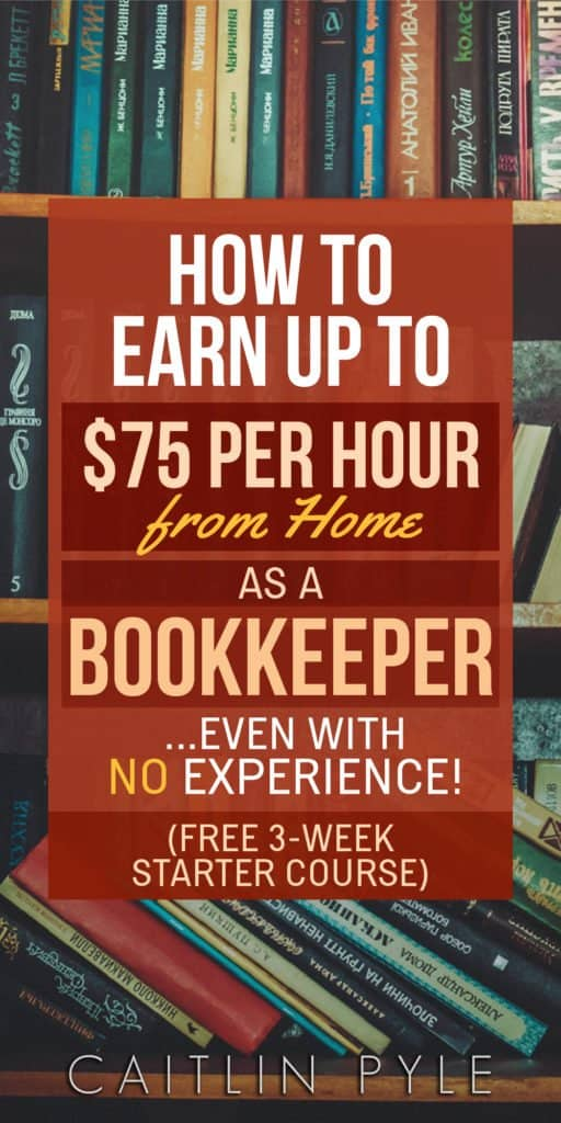 how to become a bookkeeper work at home