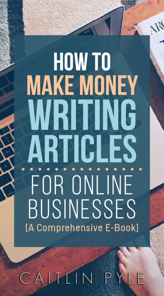 How to work at home writing articles for online businesses