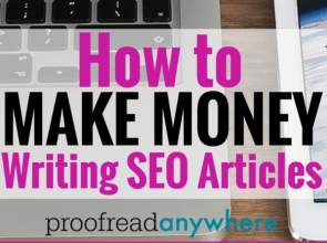 How to Make Money Writing SEO Articles for Online Businesses