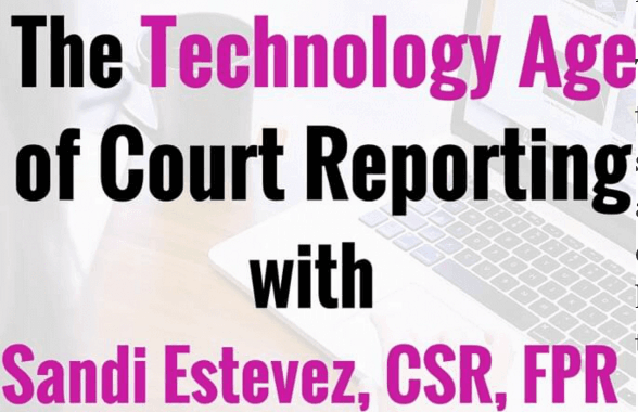 [Expert Interview] Sandra Estevez, CSR (CA), FPR, Director of Reporter Development for US Legal Support (Yeah, We Asked Her About Proofreading!)