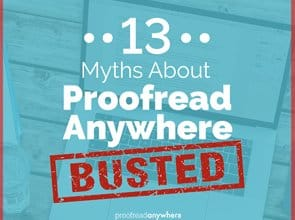 Students have seen some incredible results from the course, and court reporters nationwide have said some awesome things about the proofreaders trained by my program. Here are 13 myths about Proofread Anywhere - Busted!