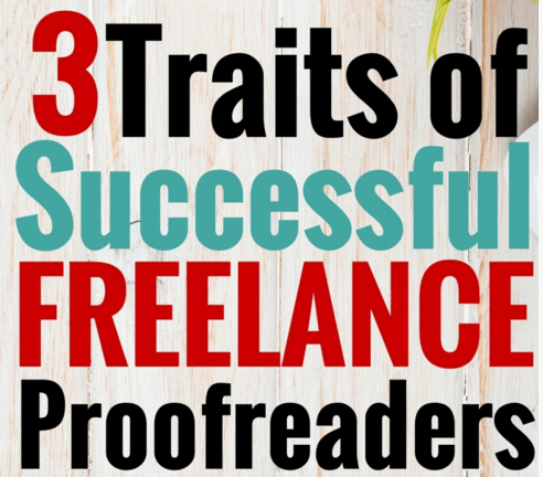 The 3 Pillars of Success in Proofreading — and in Life