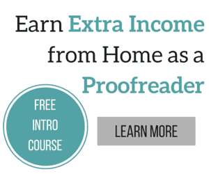 Earn Extra Income from Home as a Proofreader -- Free Intro Course