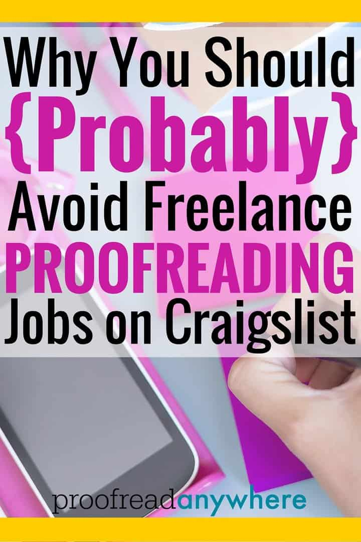 Essay proofreading jobs