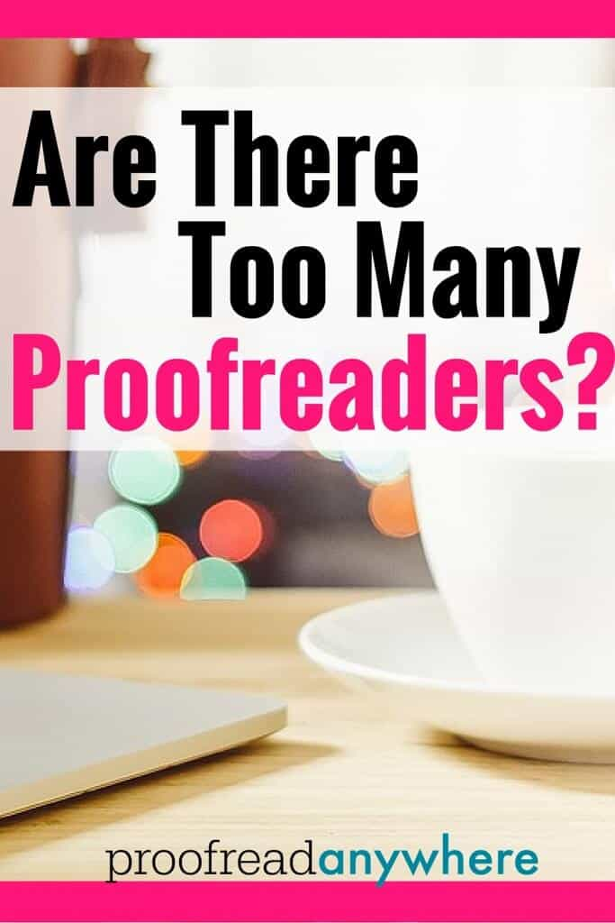 """Think the proofreading market is saturated? Proofreading transcripts is too hard -- and too complex -- for everyone to be good at it. The work being """"hard"""" is exactly why the market for a career in court reporting will also never saturate."""