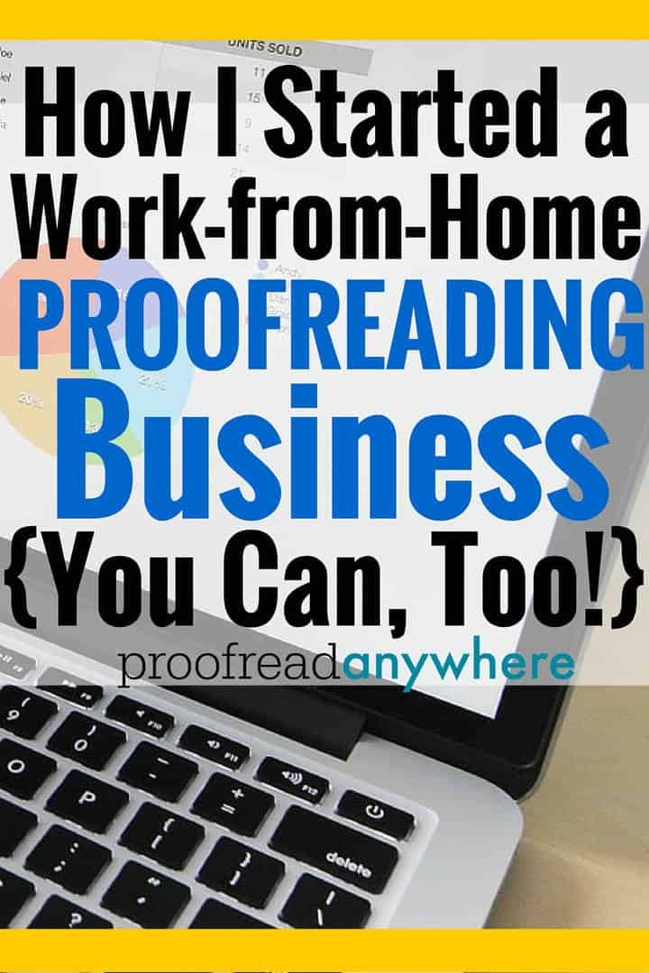 proofreader work from home