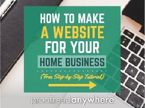 [FREE TUTORIAL!] How to Make a Website for Your Home Business in 8 EASY Steps