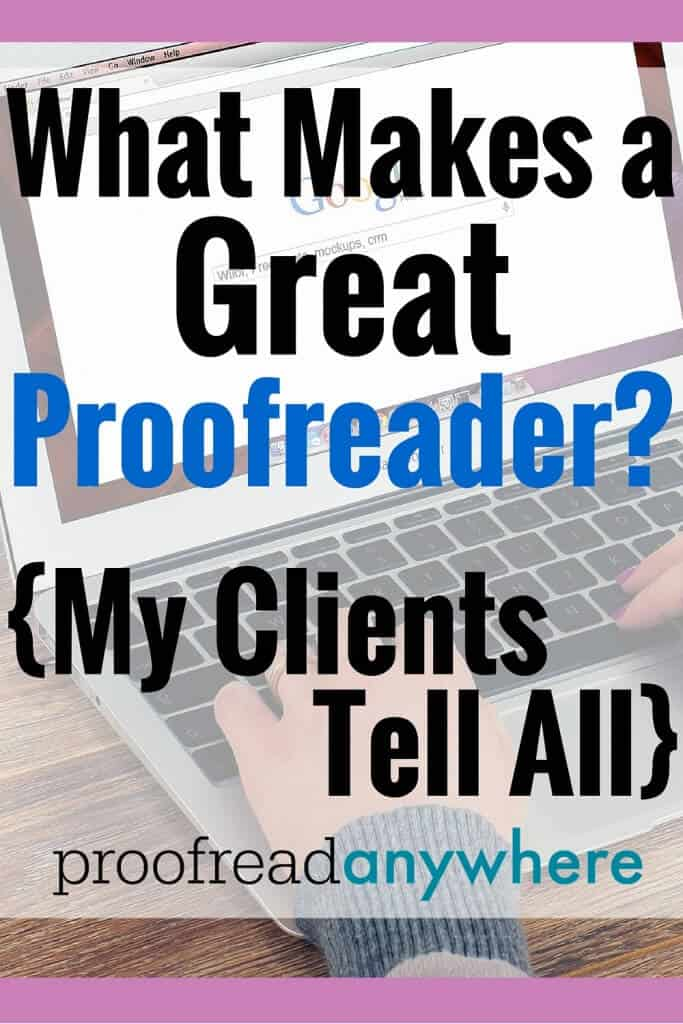 """I asked the following question to my favorite clients: """"What makes a great proofreader?"""" Here's how my clients (REAL court reporters) responded!"""