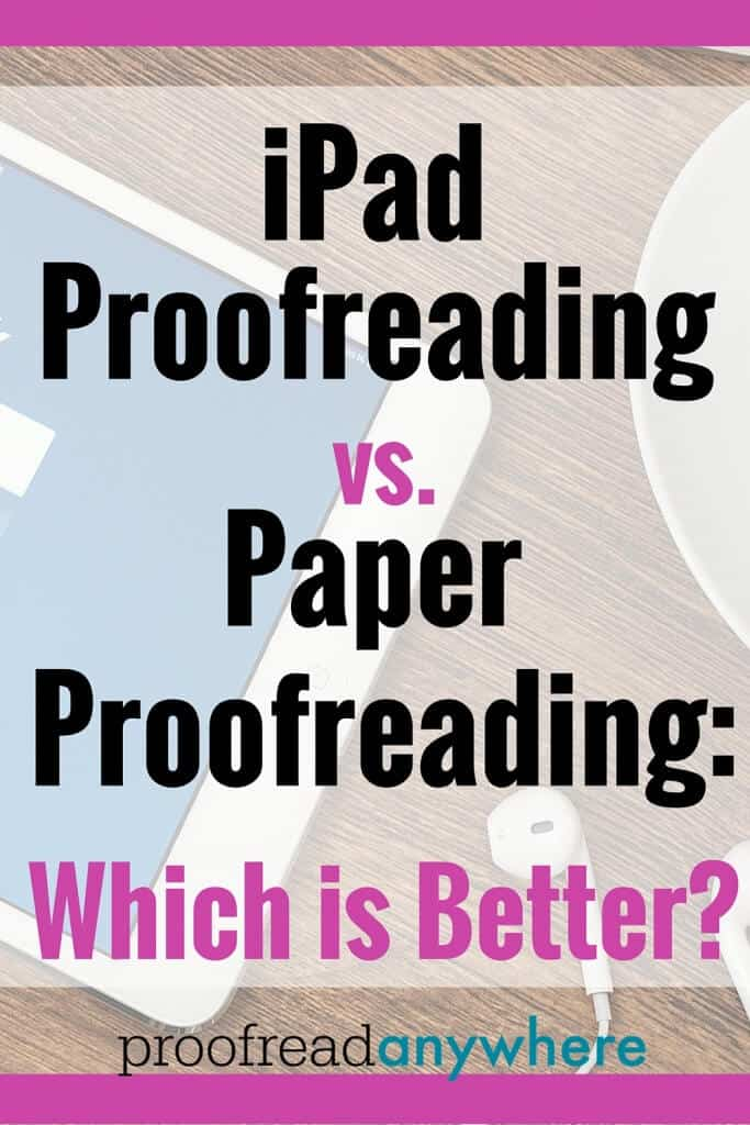Some folks passionately believe proofreading on a screen is less accurate than proofreading on paper. We've done thorough research on this debate. Here are the results!