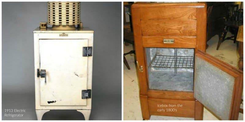 fridge vs ice box