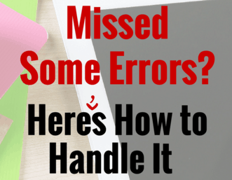 Missed Some Errors? Here's How to Handle It with Grace