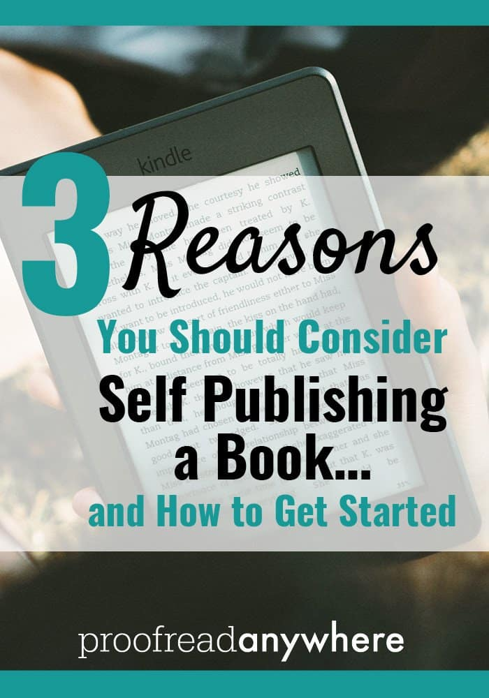 Consider Self Publishing