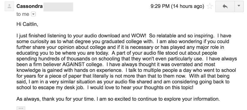 Cassondra email