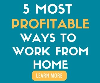 5 most profitable ways to work from home