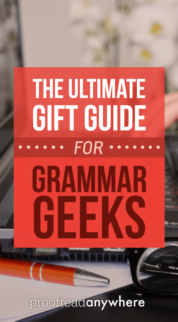 This round-up is the ultimate gift guide for all the word nerds in your life! Awesome books, really fun games, and even cute office decor. Who knew?
