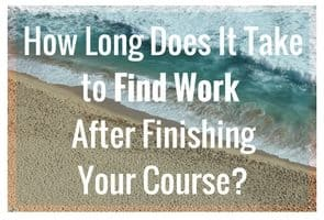 How long does it take to find proofreading work after finishing the course?