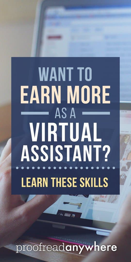 Being a virtual assistant no longer means answering emails for low pay. If you learn THESE skills, your income will go through the roof!