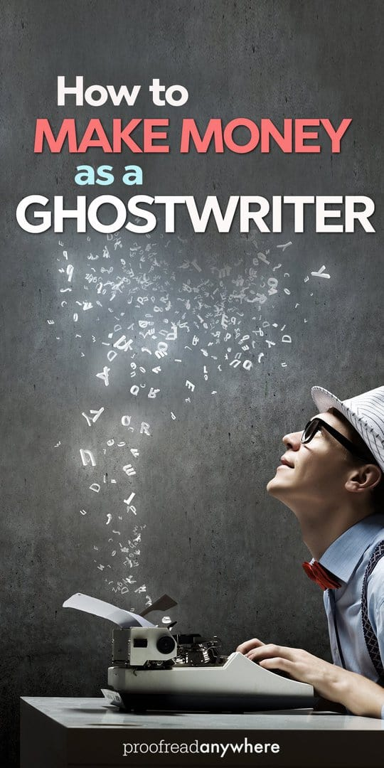 Hey, freelancers! Did you know you can make money as a ghostwriter?
