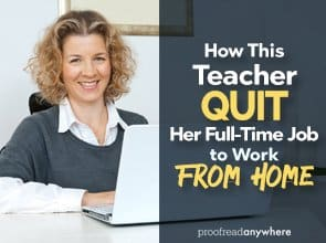 How This Teacher Quit Her Full-Time Job to Work from Home