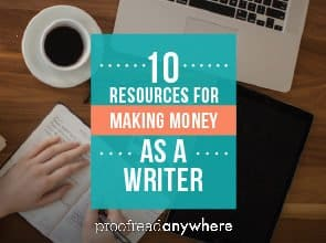 10 Resources for Making Money as a Writer