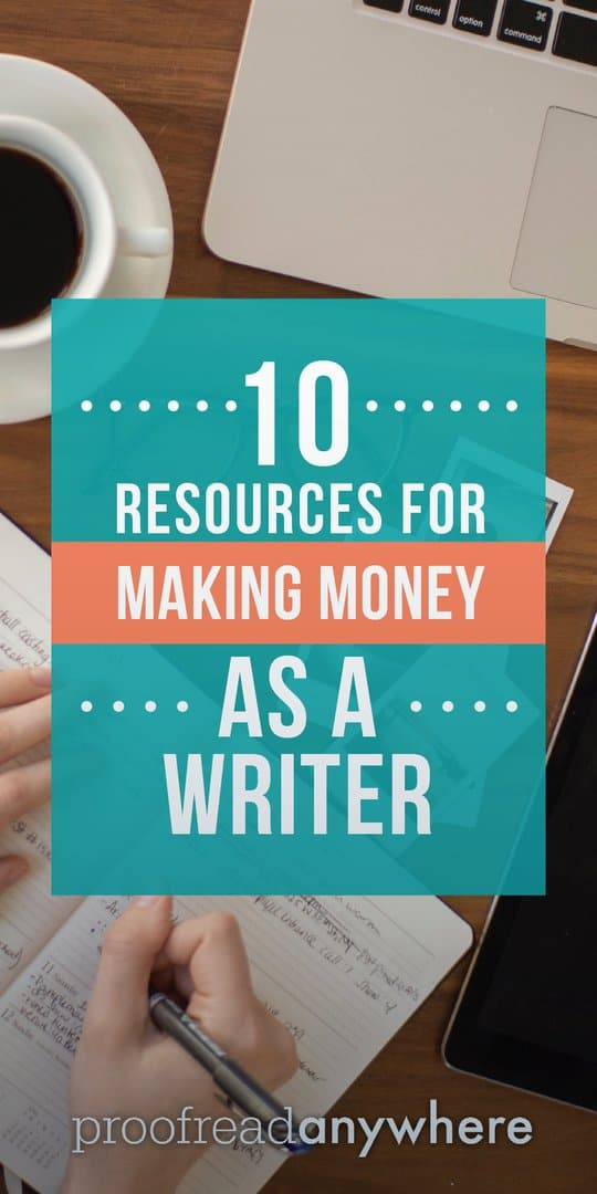 Want to make money as a writer? We can help!