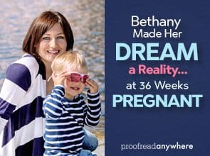 Transcript proofreading can be a great business for new moms