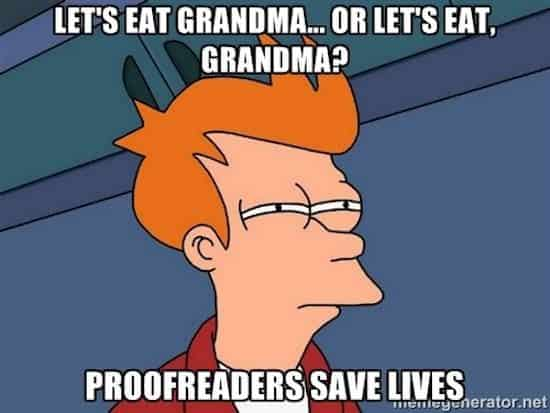 Commas save lives!