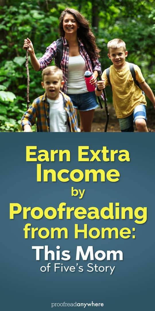 Earn extra income from home by becoming a part-time proofreader