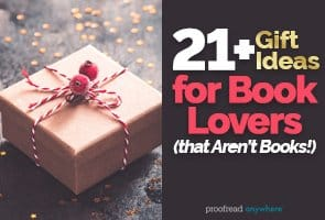 Check out these 21+ nonbook gift ideas for book lovers
