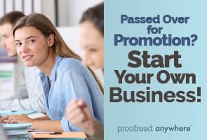 Start your own business and never rely on someone else for your success again