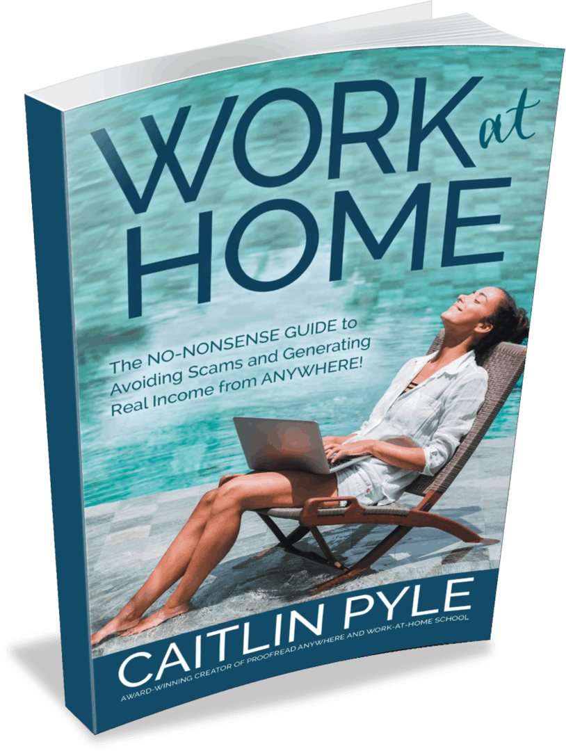 Work at Home book by Caitlin Pyle