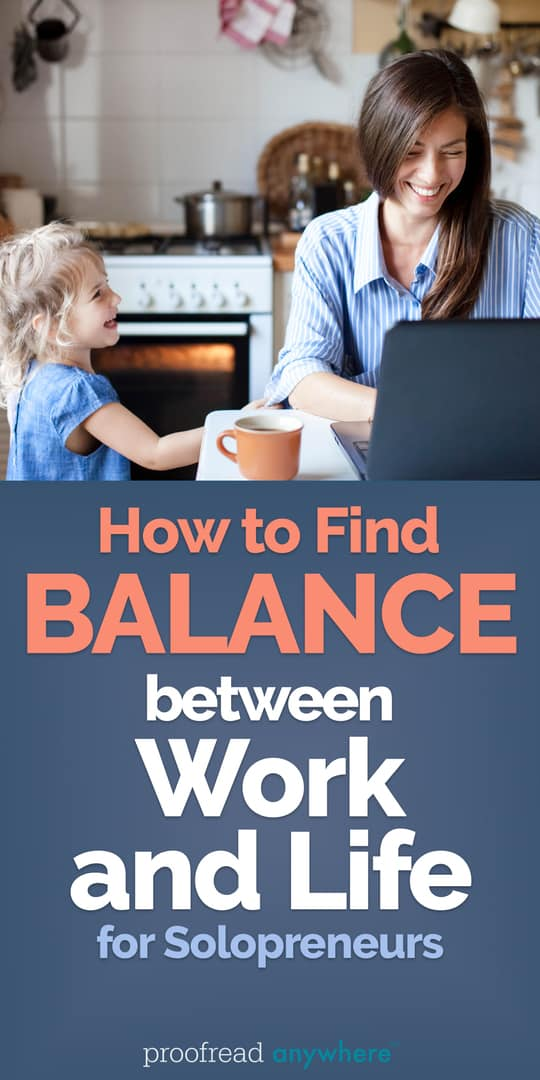 Feeling overwhelmed by your at-home job? Check out these tips to help you find balance between work and life.