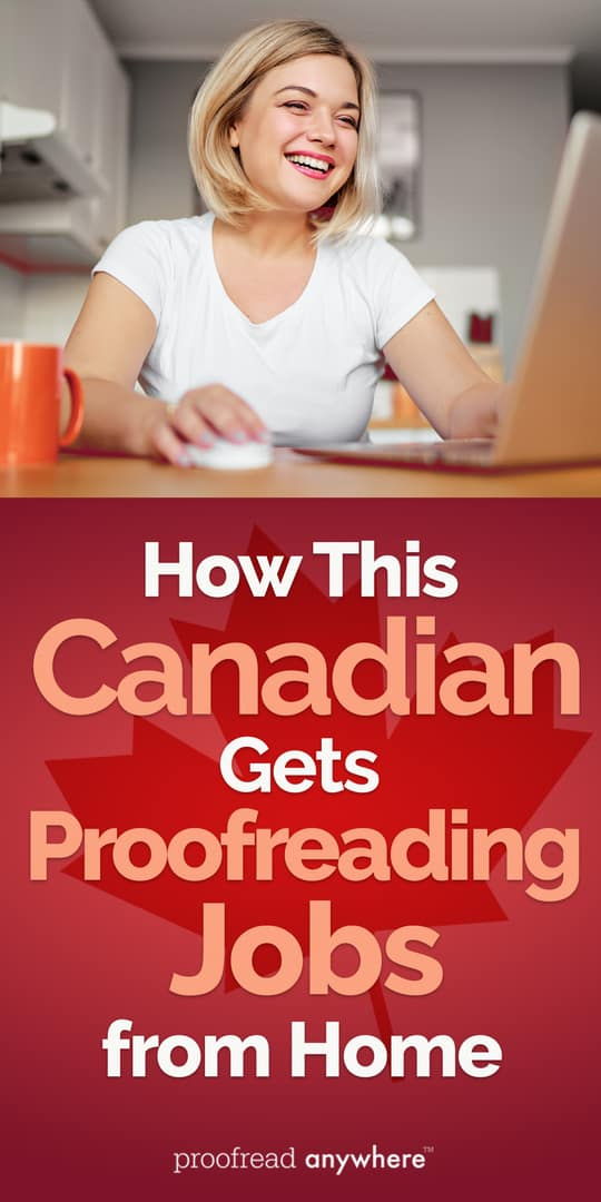 Nancy shares how she gets proofreading jobs from home