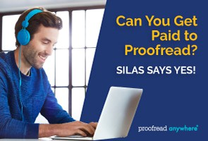 Get paid to proofread no matter where you live