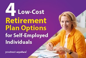 Smart retirement plan options for self-employed people