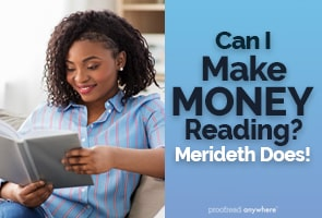 Your love of reading can make you money from home!