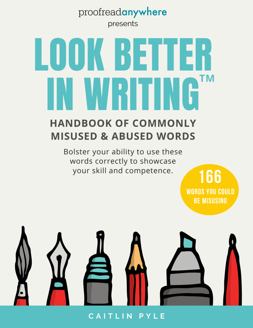 Look Better in Writing Handbook