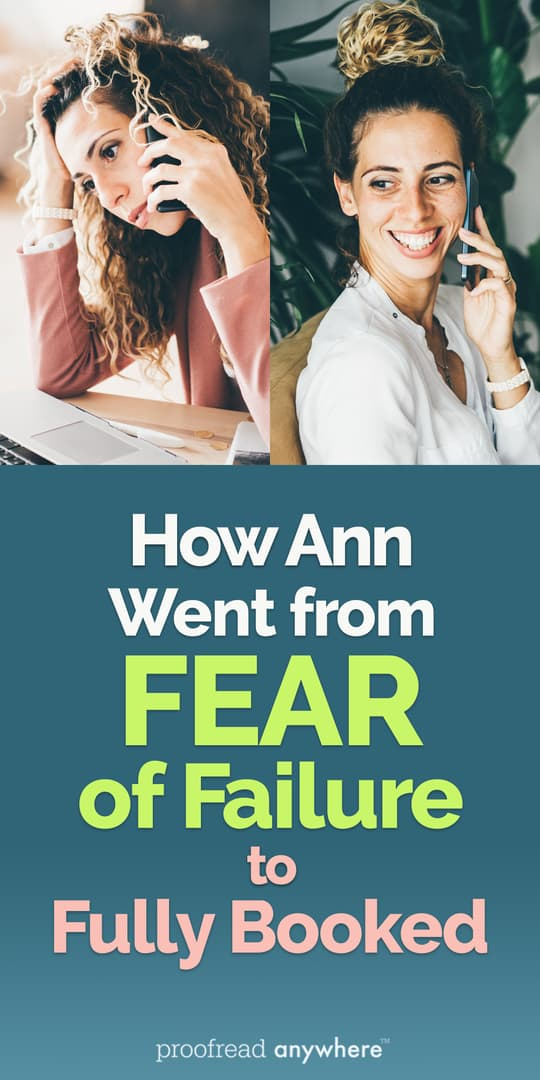 Kick fear of failure to the curb and become a fully booked freelancer