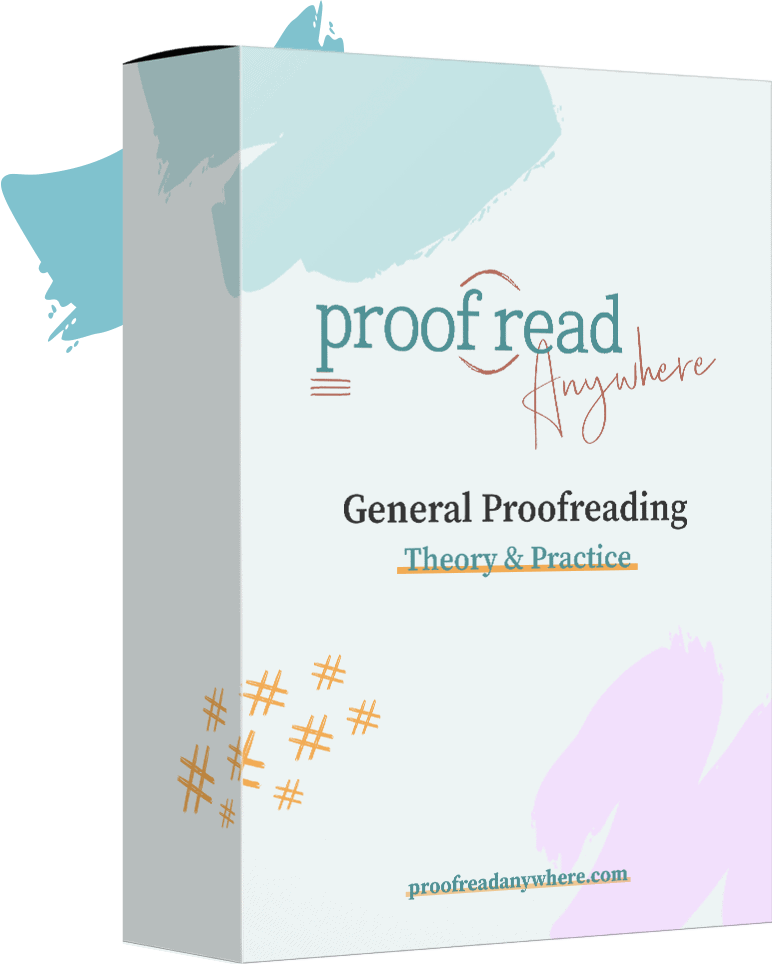 general proofreading course